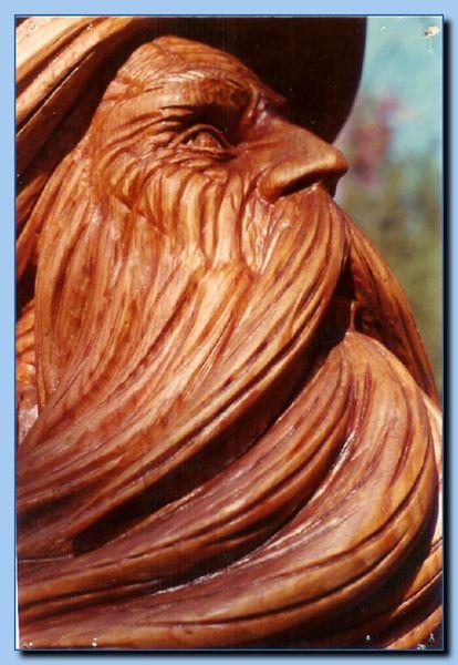 Fantasy - 1-09 wizard bust - Sculpture Photo Gallery